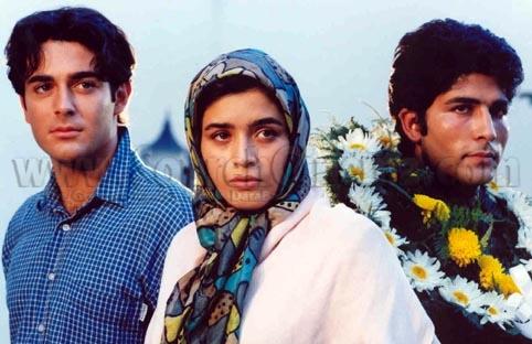 عکس محمدرضا گلزار در فیلم عاشقانه سام و نرگس